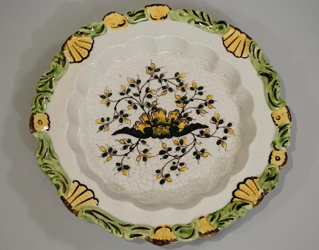 Meiselman Italy Majolica Molded Plate