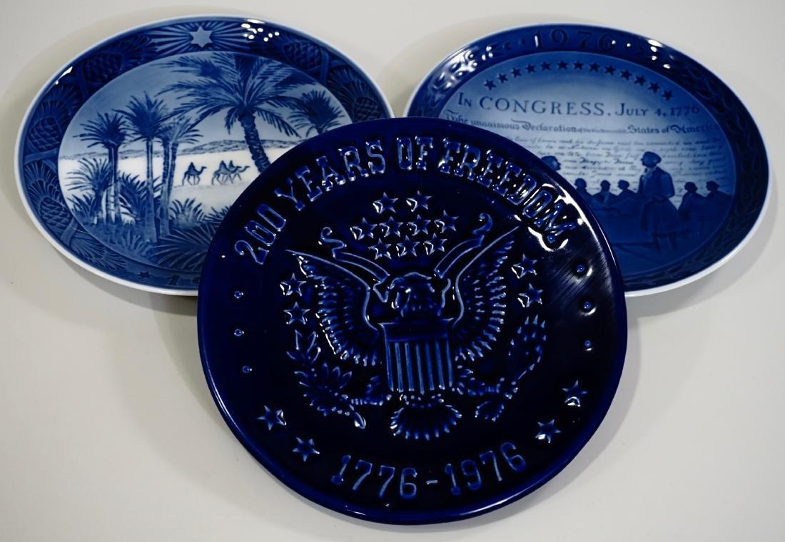 American Eagle Cobalt Blue Commemorative Plaque