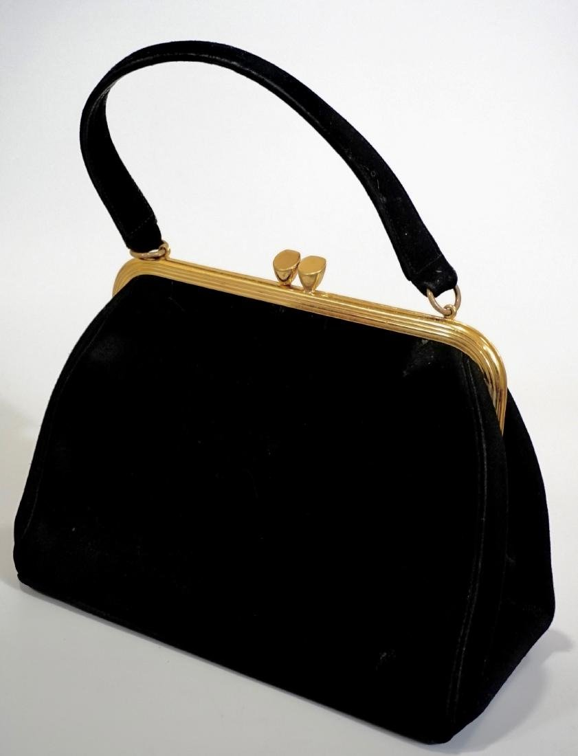 Bienen Davis Vintage Handbag Women's Purse Black Faux