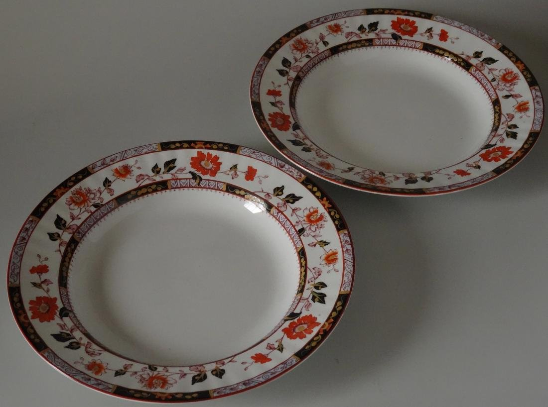 Antique Ashworth A. Bros Lincoln Soup Plate England Lot