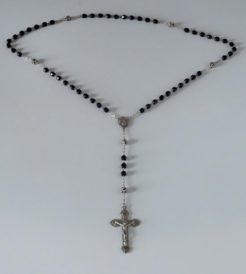 Vintage Italian Rosaries Crucifix Cross