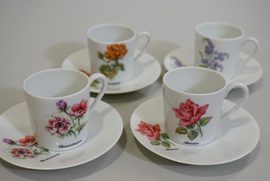 Georges Boyer Limoges France Botanical Coffee Can Cup