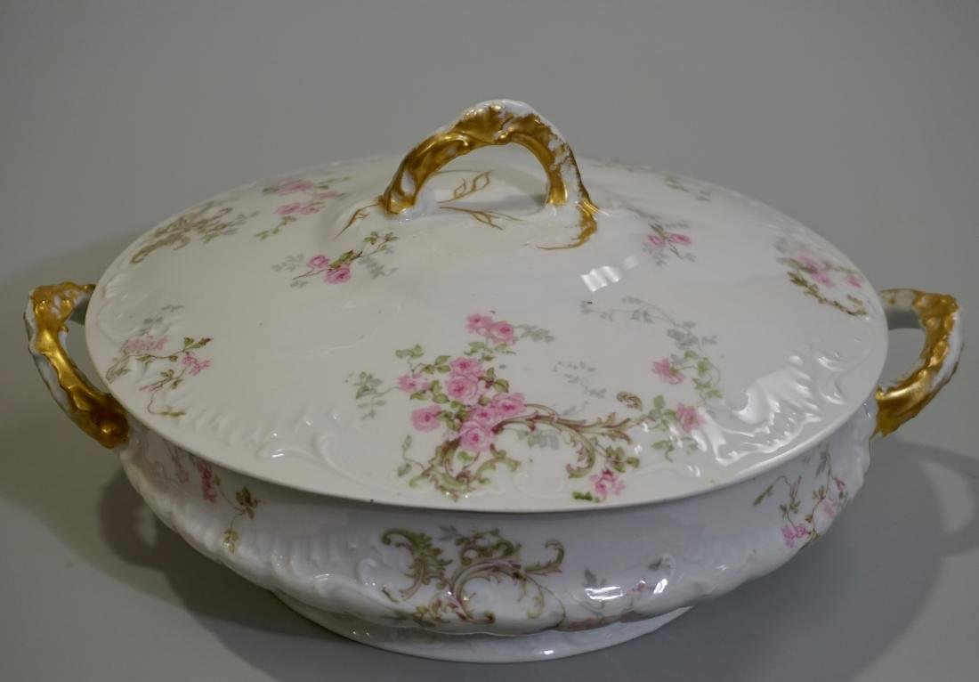 Theodore Haviland Limoges Porcelain Tureen France c