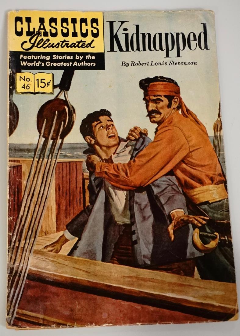 Classics Illustrated Kidnapped Comic Book 046 1967