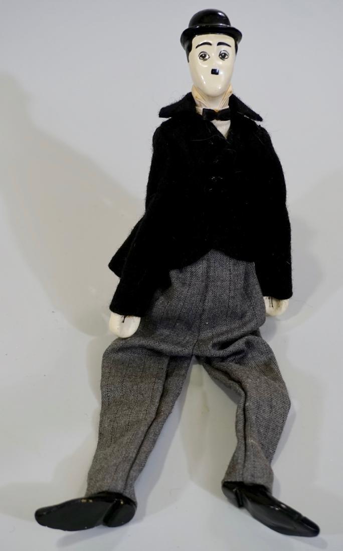Charlie Chaplin Handmade Character Doll