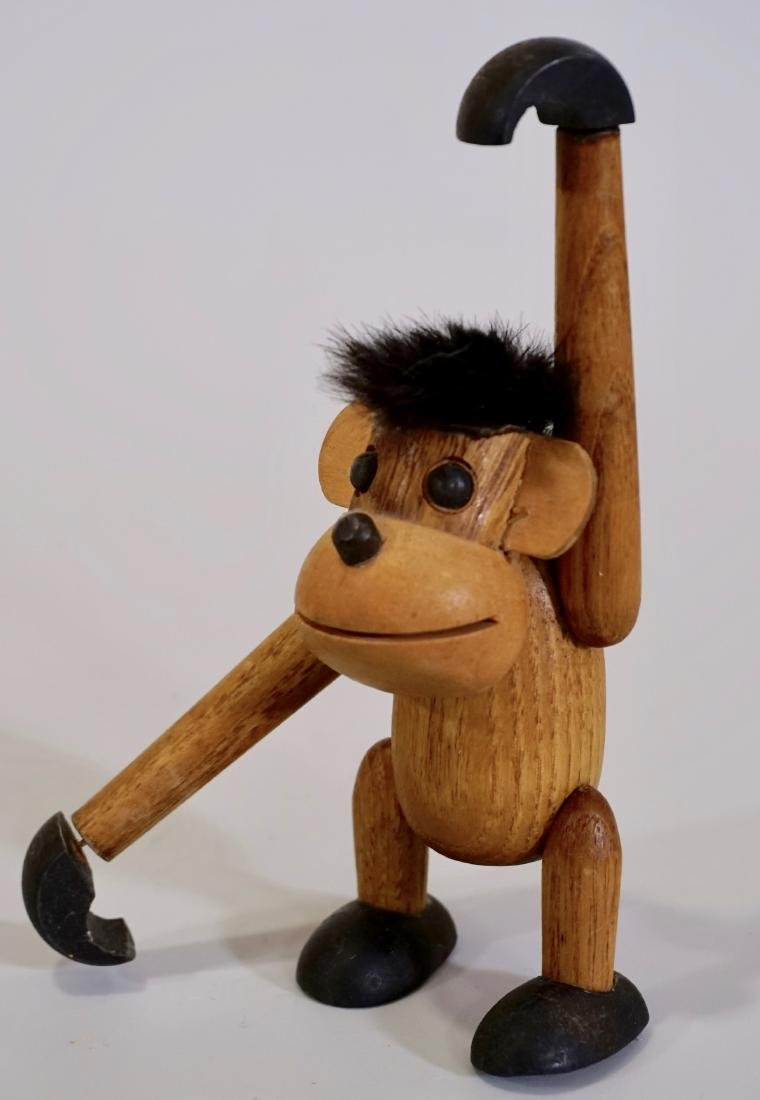 Mid Century Kay Bojesen Modernist Monkey Jointed Wood