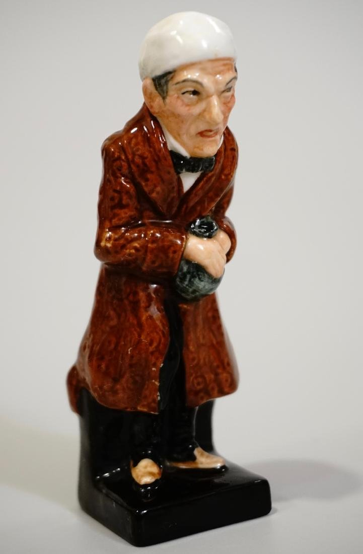 Scrooge Royal Doulton Porcelain Miniature Figurine