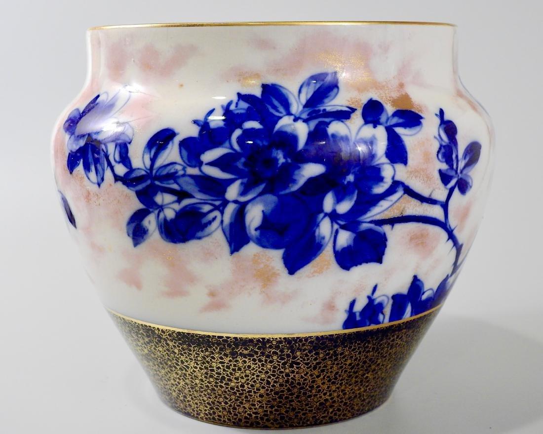 Victorian Royal Doulton Flow Blue Jardiniere