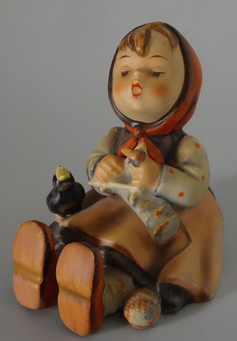 Hummel Happy Pastime 69 Figurine Girl with Bird