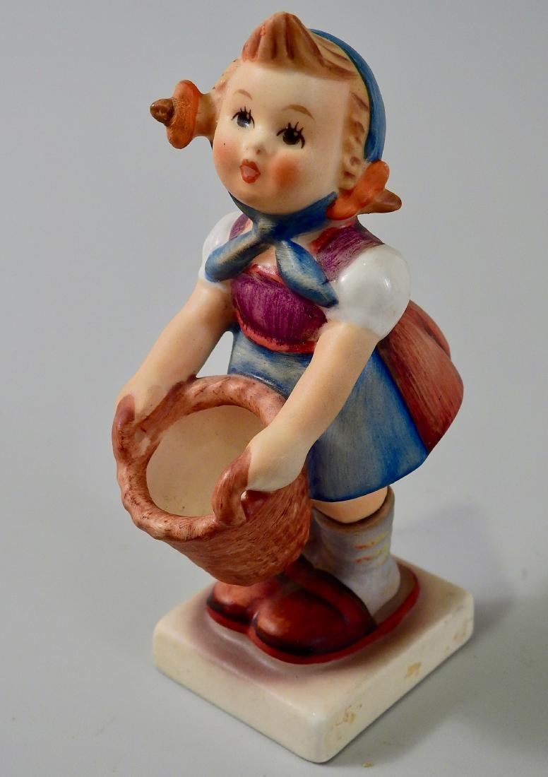 Goebel West Germany Girl With Basket Figurine