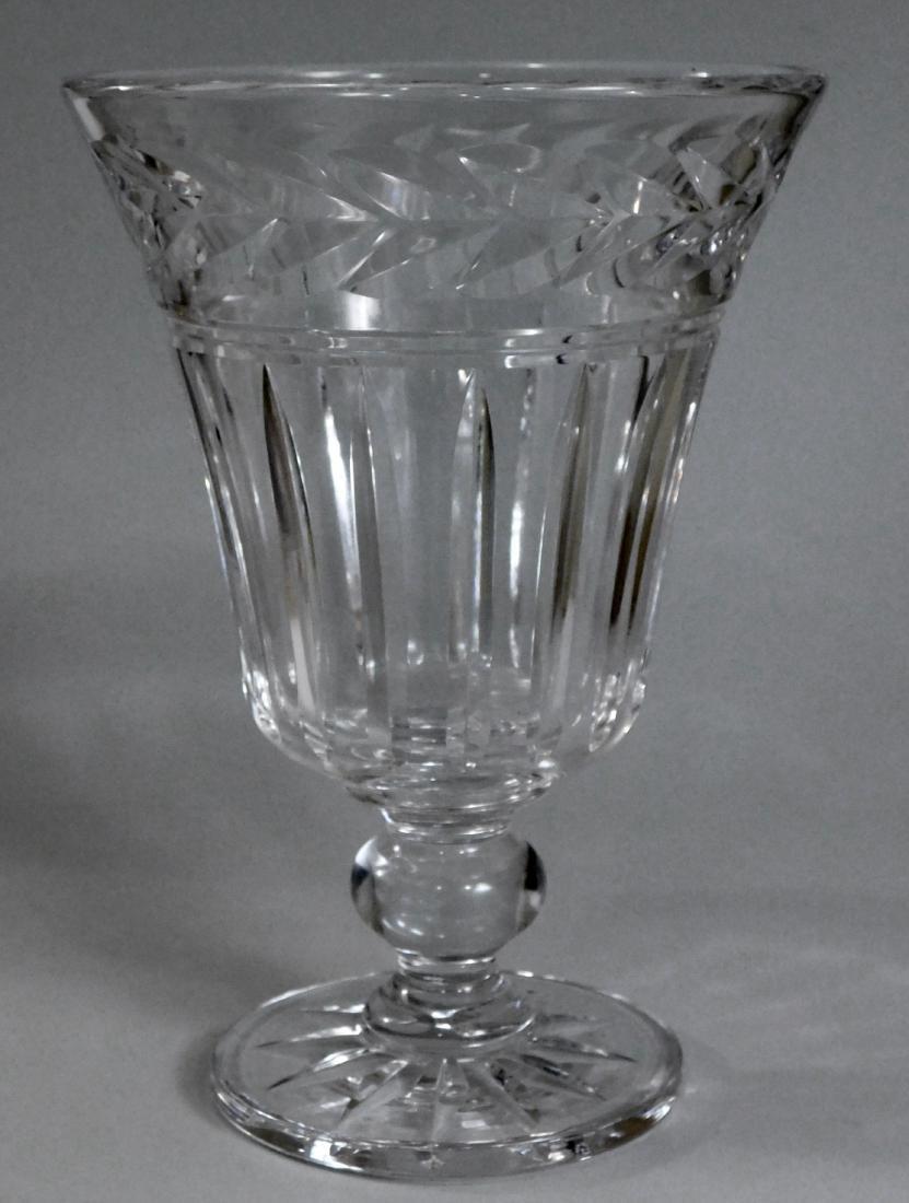 Stuart English Crystal Vase