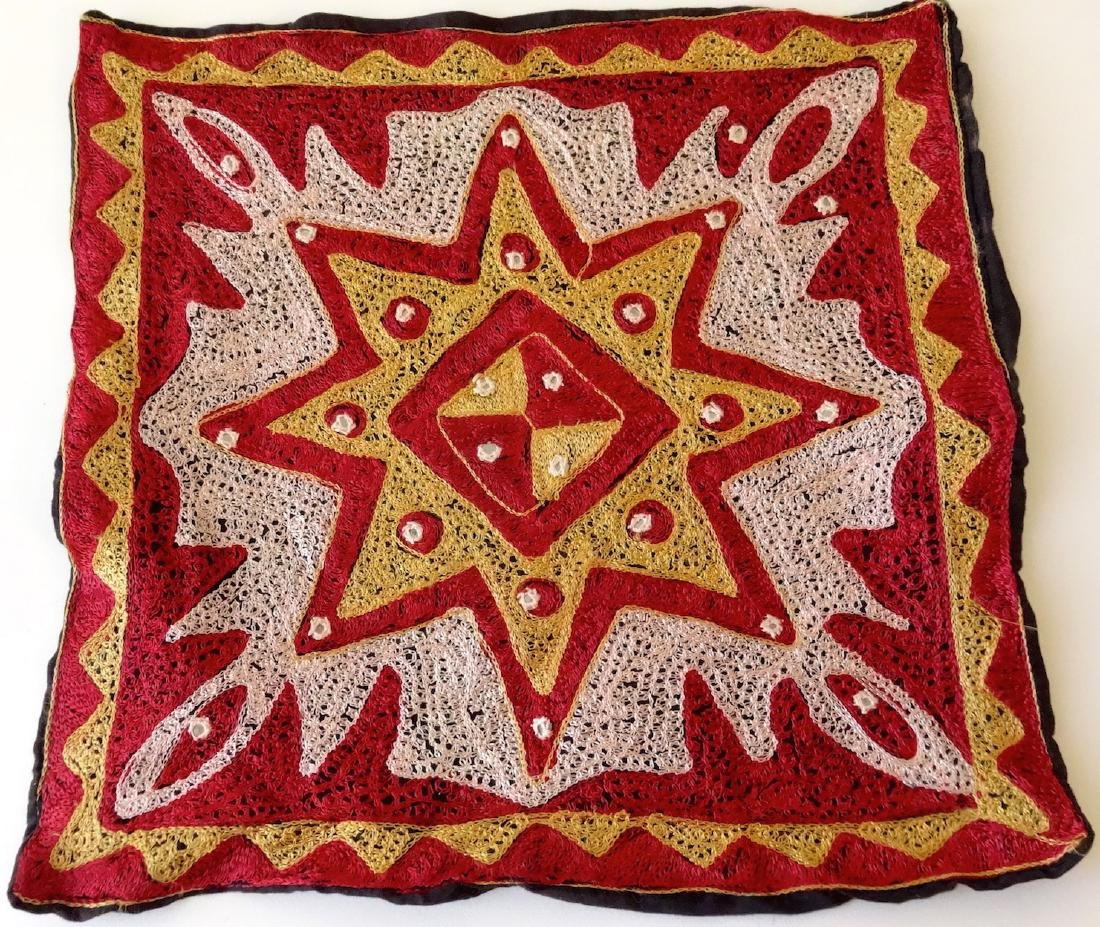 Vintage Ethnic Moroccan Starburst Pillow Cases Jeweled