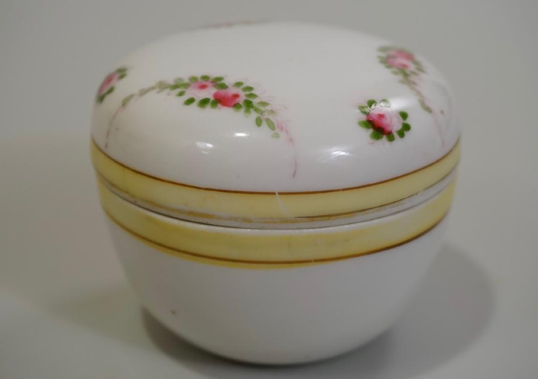 Vintage Noritake Porcelain Vanity Trinket Box