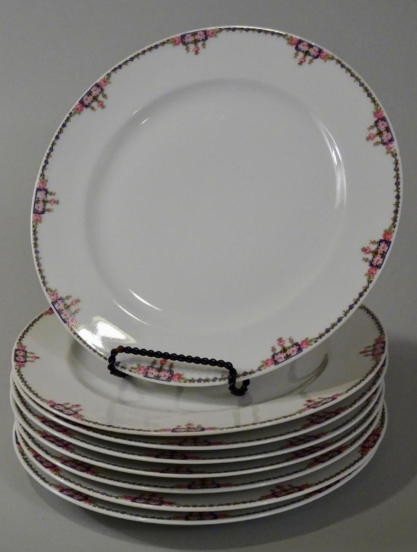 Charles Ahrenfeldt Limoges French Porcelain Plates For