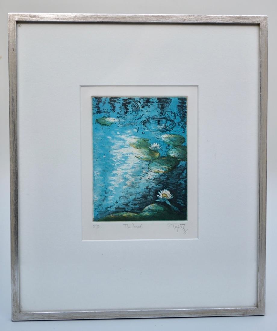 The Pond Signed Framed Vintage Print Limited