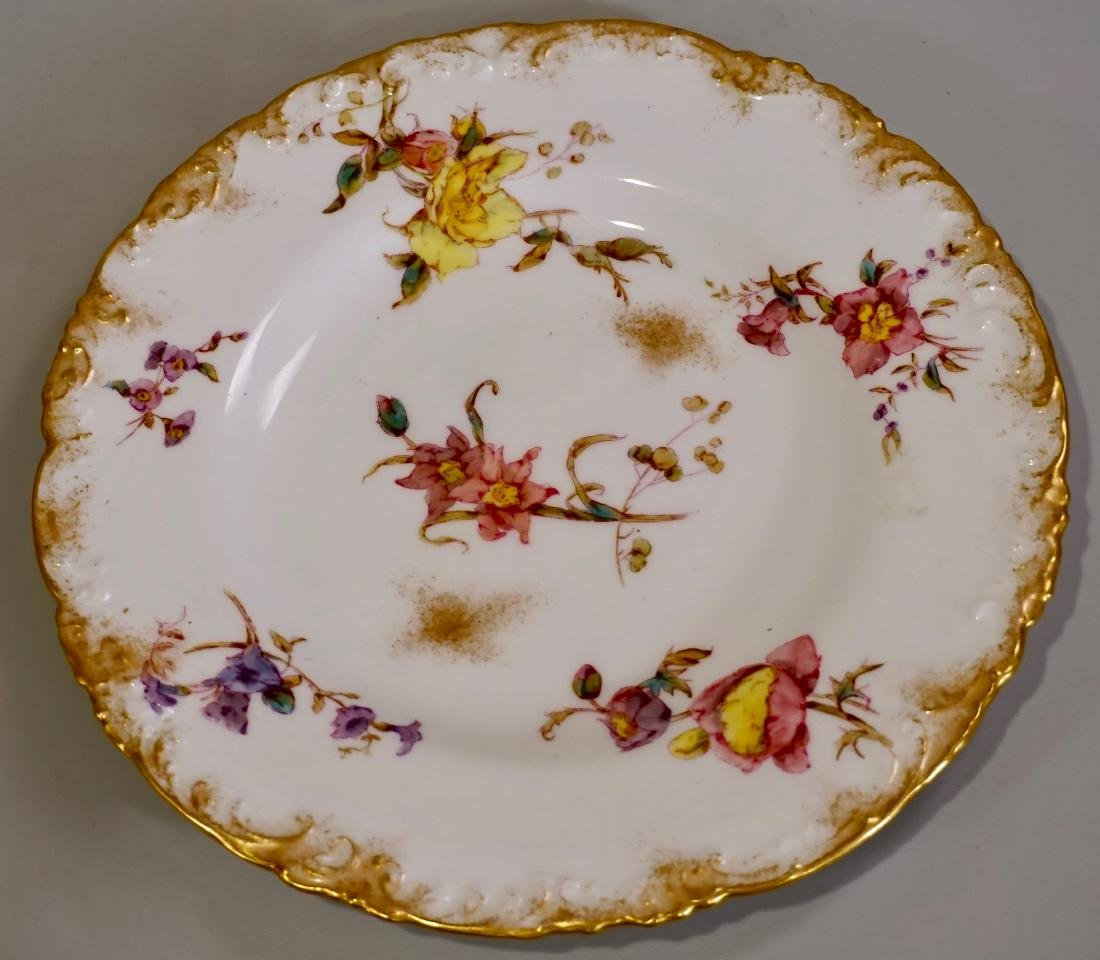 Royal Crown Derby English China Plate Retailed by J. E.
