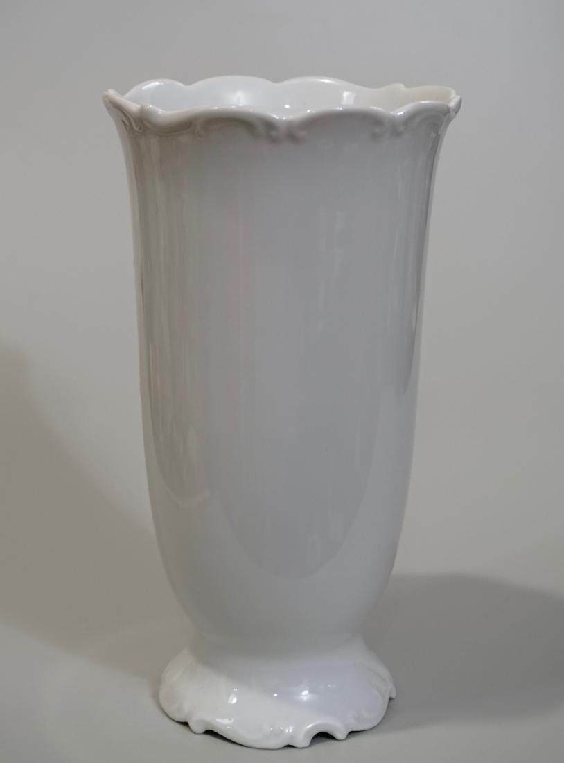 Hutschenreuther Germany Blanc De Chine Flower Vase