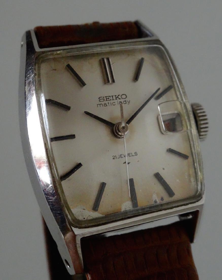 Rare Vintage Seiko Matic Lady 40s Self-winding Watch 21