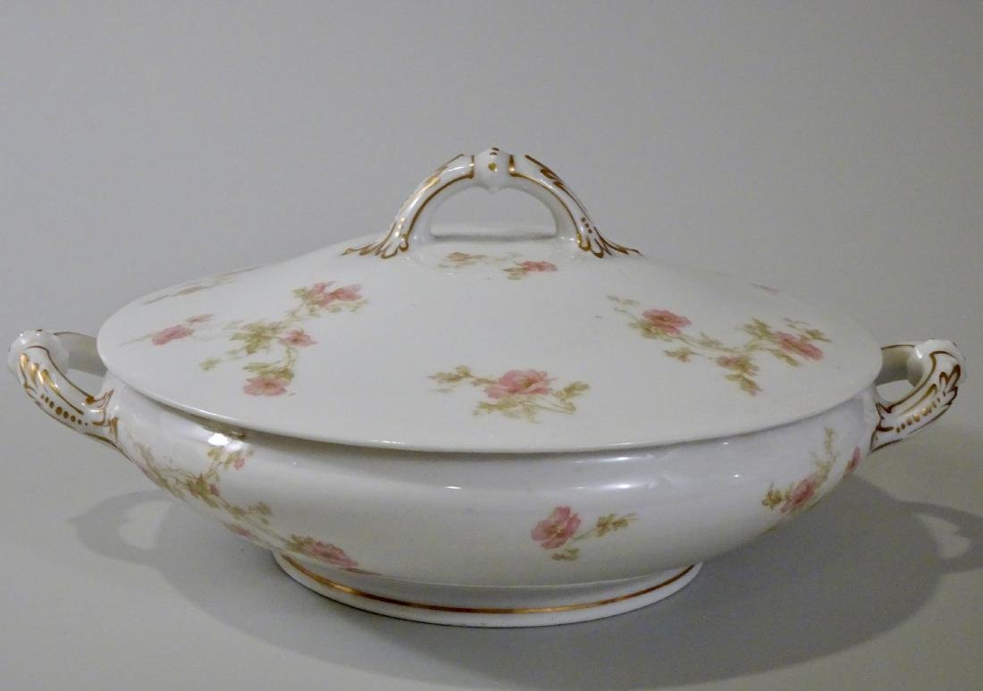 Haviland Limoges Soup Tureen Antique French Porcelain