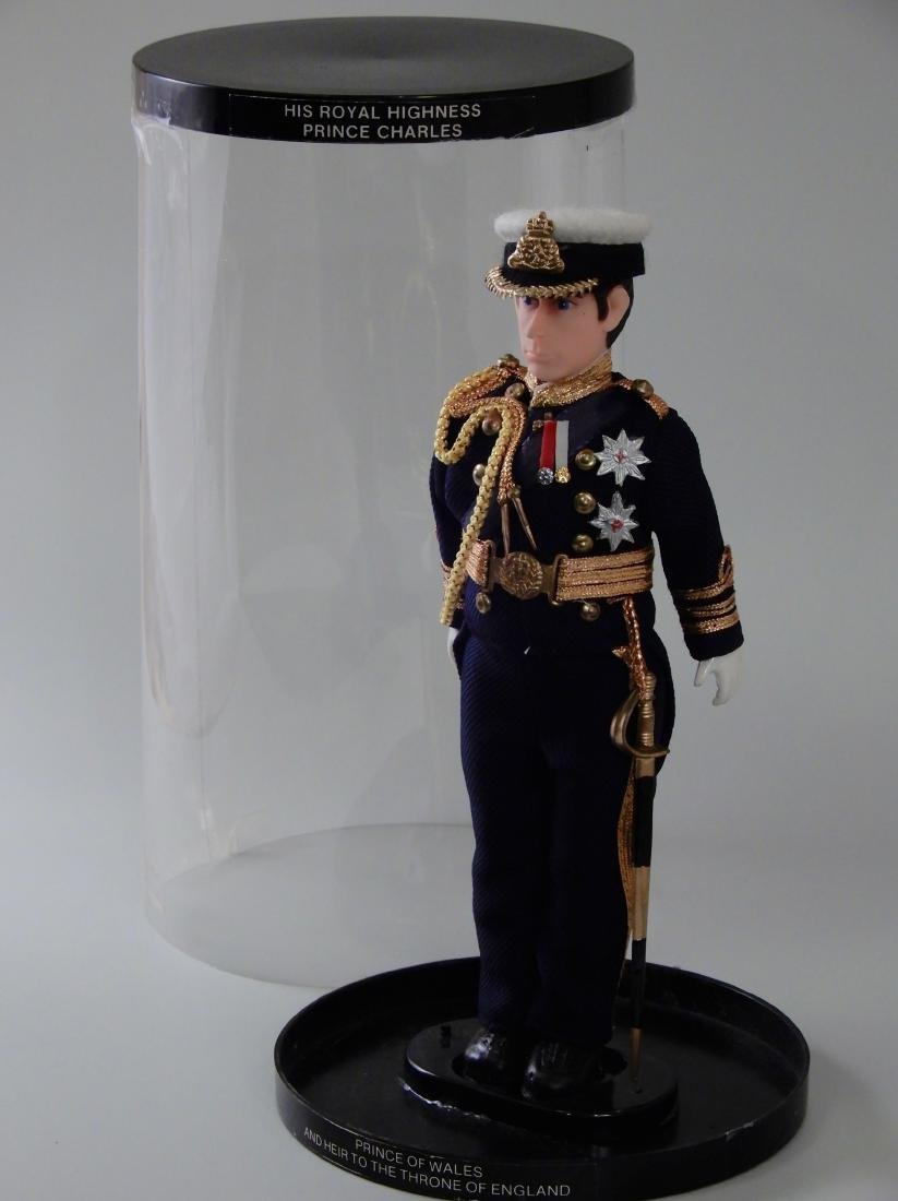 Prince Charles in Military Uniform Collectable Figurine
