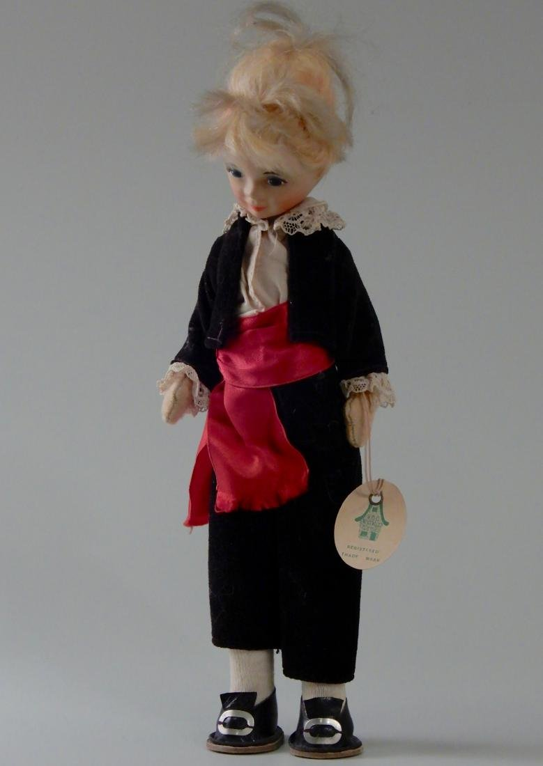Old Cottage Doll Vintage Mid Century Made in England