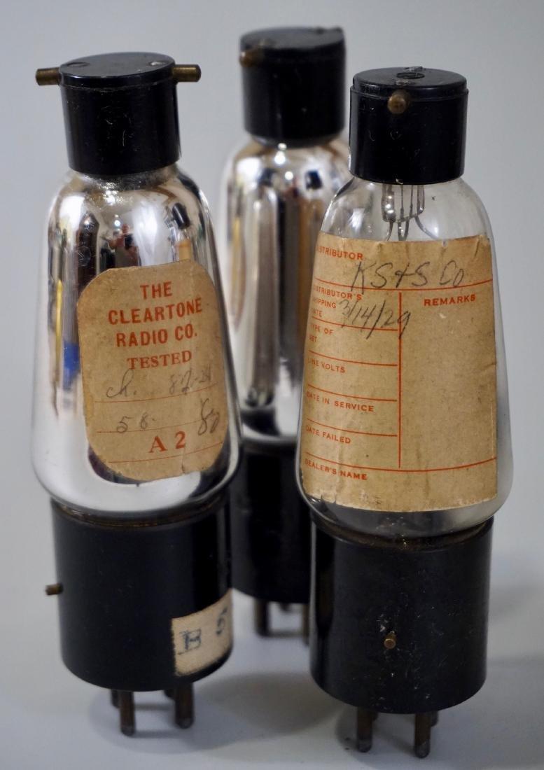 Vintage Shortwave Radio A2 H3 H5 Vacuum Tube Lot of 3