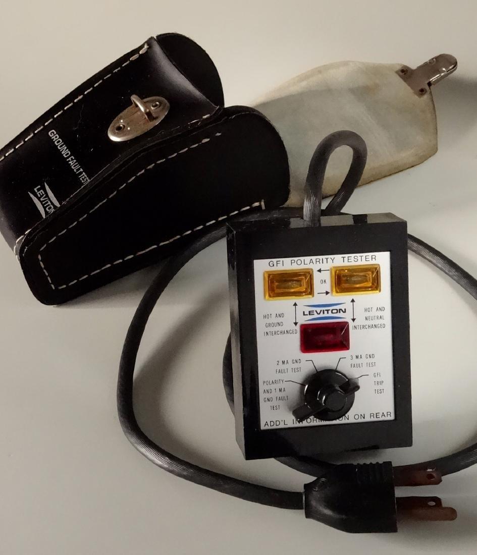 Leviton GFI Polarity Tester Vintage Tool