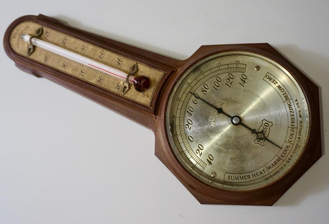 Vintage Motoco La Crosse Outdoor Sensor Thermometer