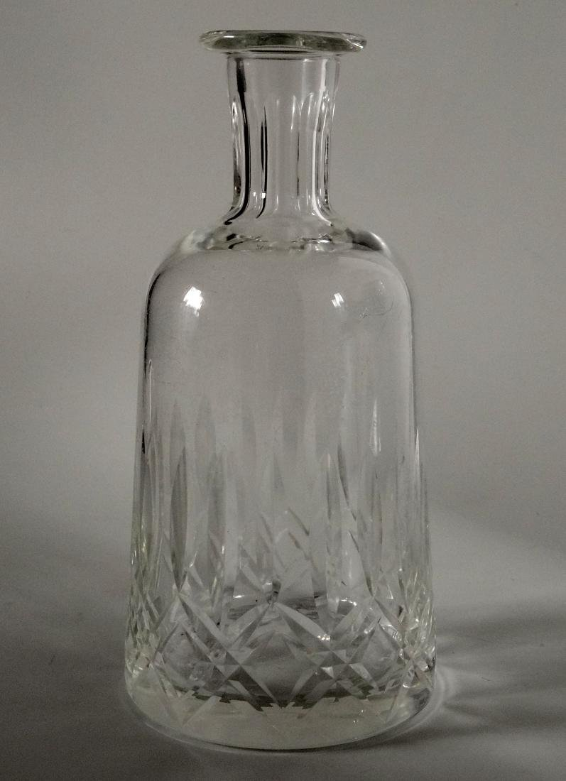 Crystal Carafe Cut Glass Wine Serving Bottle