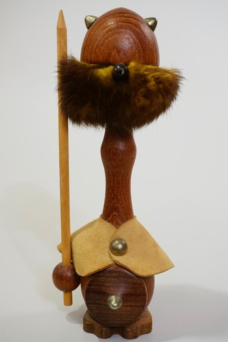 Modern Dutch Viking Mid Century Vintage Minimalist Fur