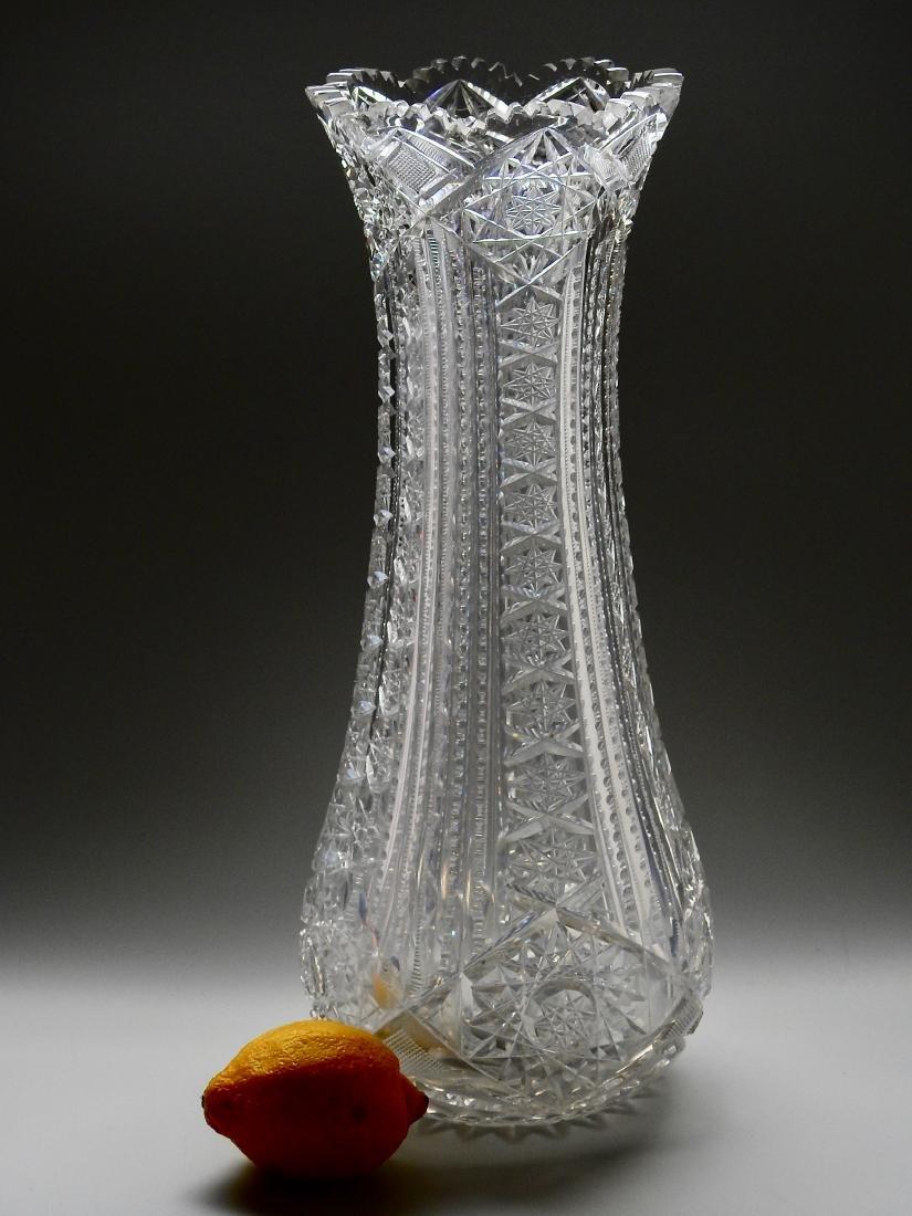 Large ABP Antique American Crystal Vase
