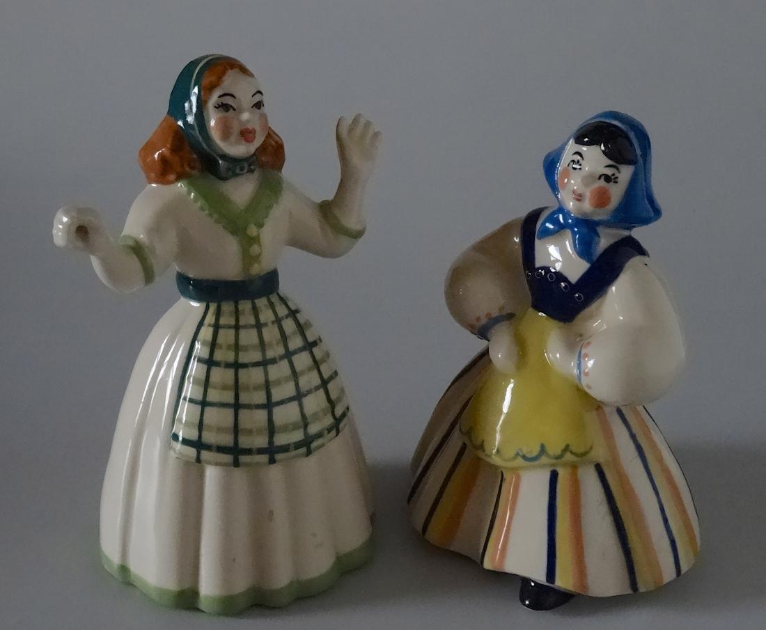 Vintage Mid Century European Porcelain Folk Figurine