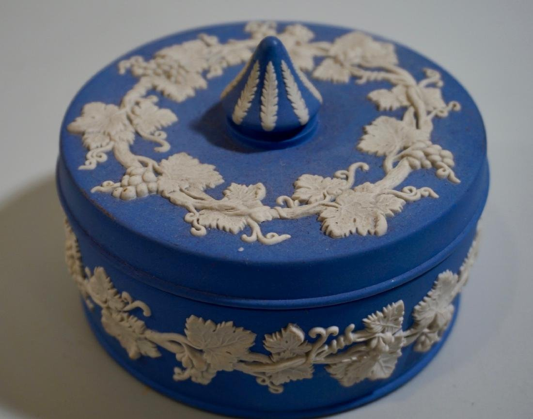 Wedgwood Blue Jasper Vanity Box