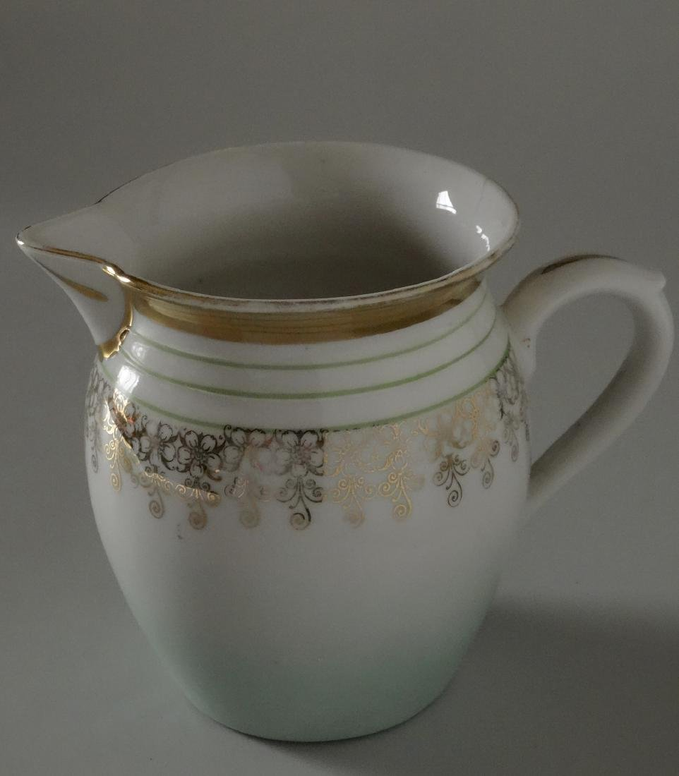 Antique c 1910 Neoclassical Austrian Pitcher Milk Jug