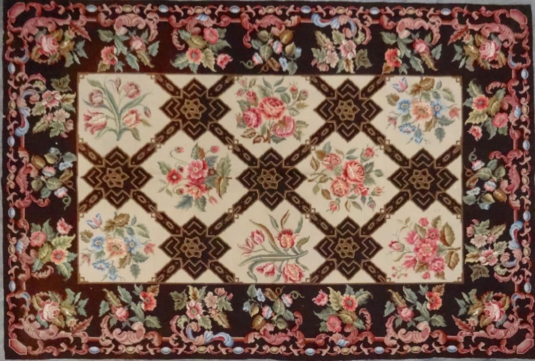 Needlepoint Carpet 4 x 6