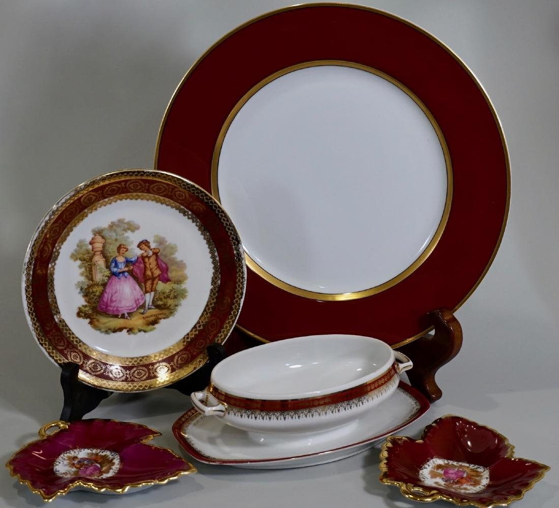 Limoges Carlsbad Assembled China Group Plates Dishes