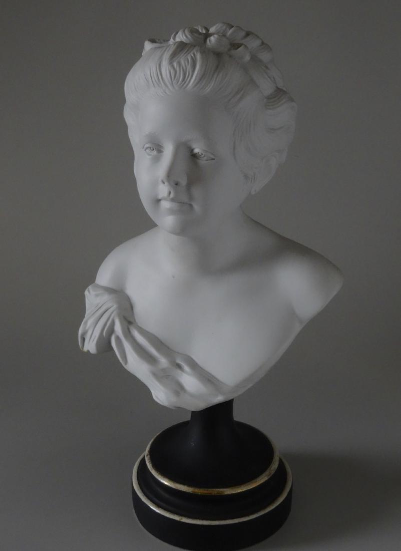Antique French Samson Bisque Porcelain Bust Artist