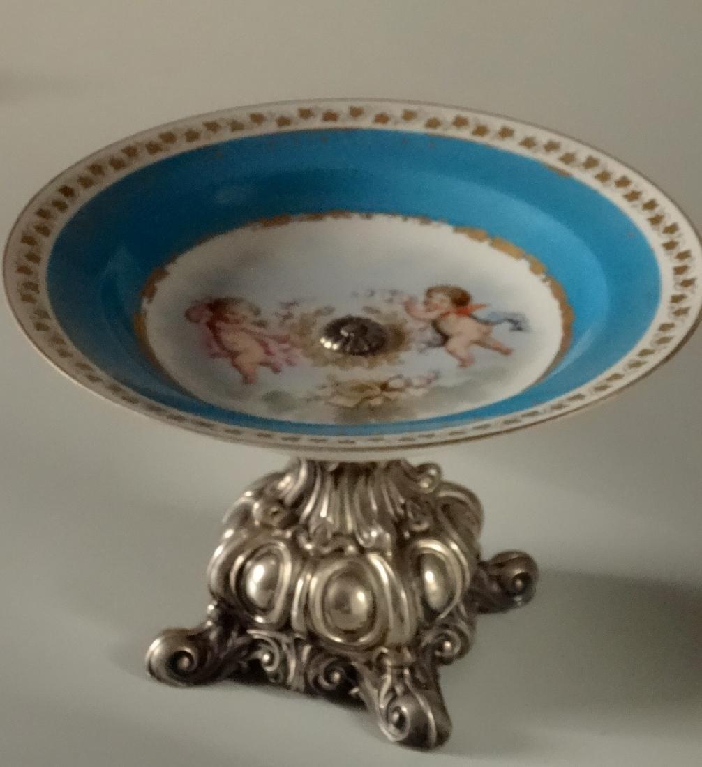 Chateau Des Tuileries Sevres Celestial Blue Porcelain