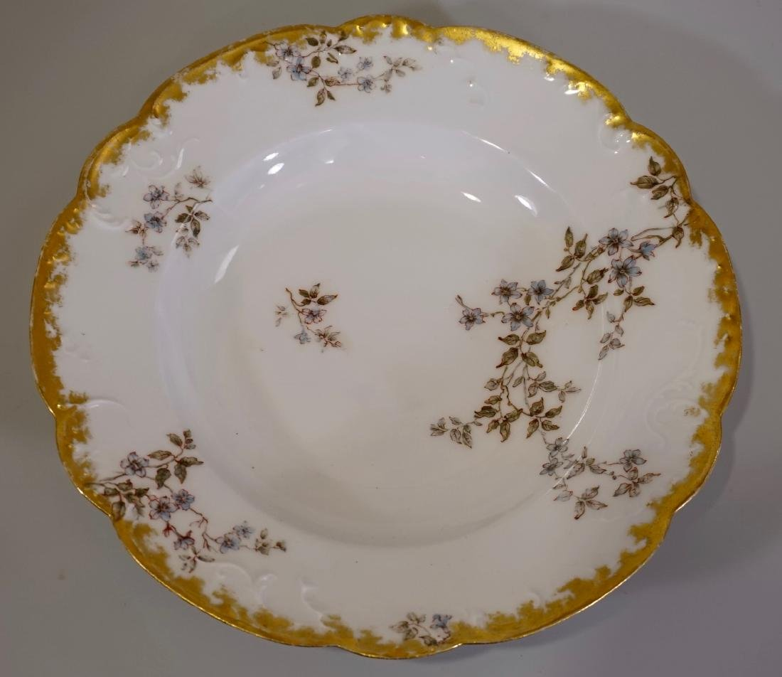 Haviland Limoges Porcelain Soup Bowl France c 1900