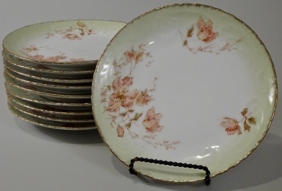 Antique German Porcelain Plates Lot of 10