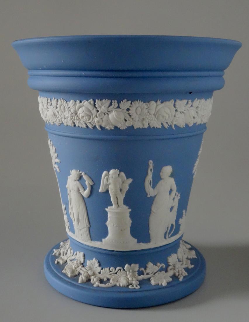 Wedgwood Blue Jasper Vase