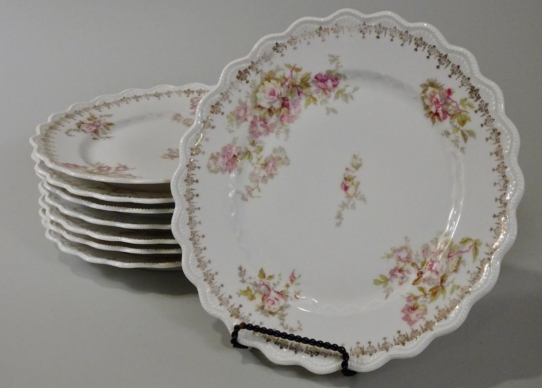 O & EG Royal Austria Antique Plates Lot of 8 Plates