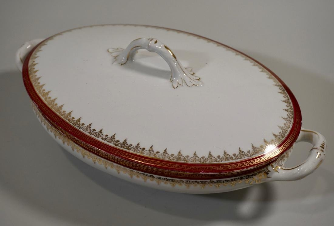 Imperial Crown China Tureen Covered Casserole Austrian