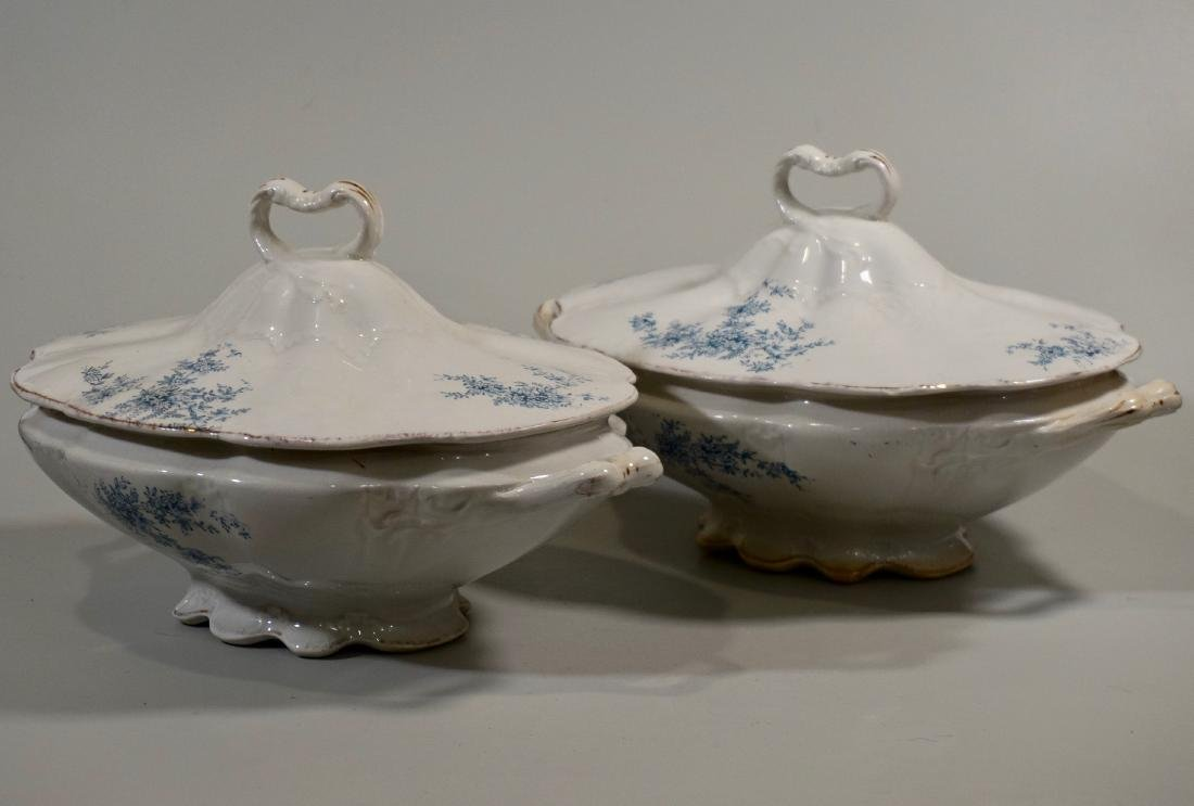 Vintage Casserole Ceramic Pair of Tureens by BurfordÕs