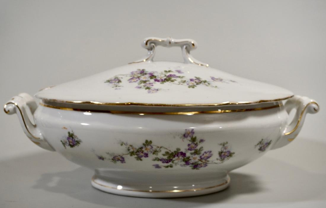 Antique Porcelain Soup Tureen c 1910