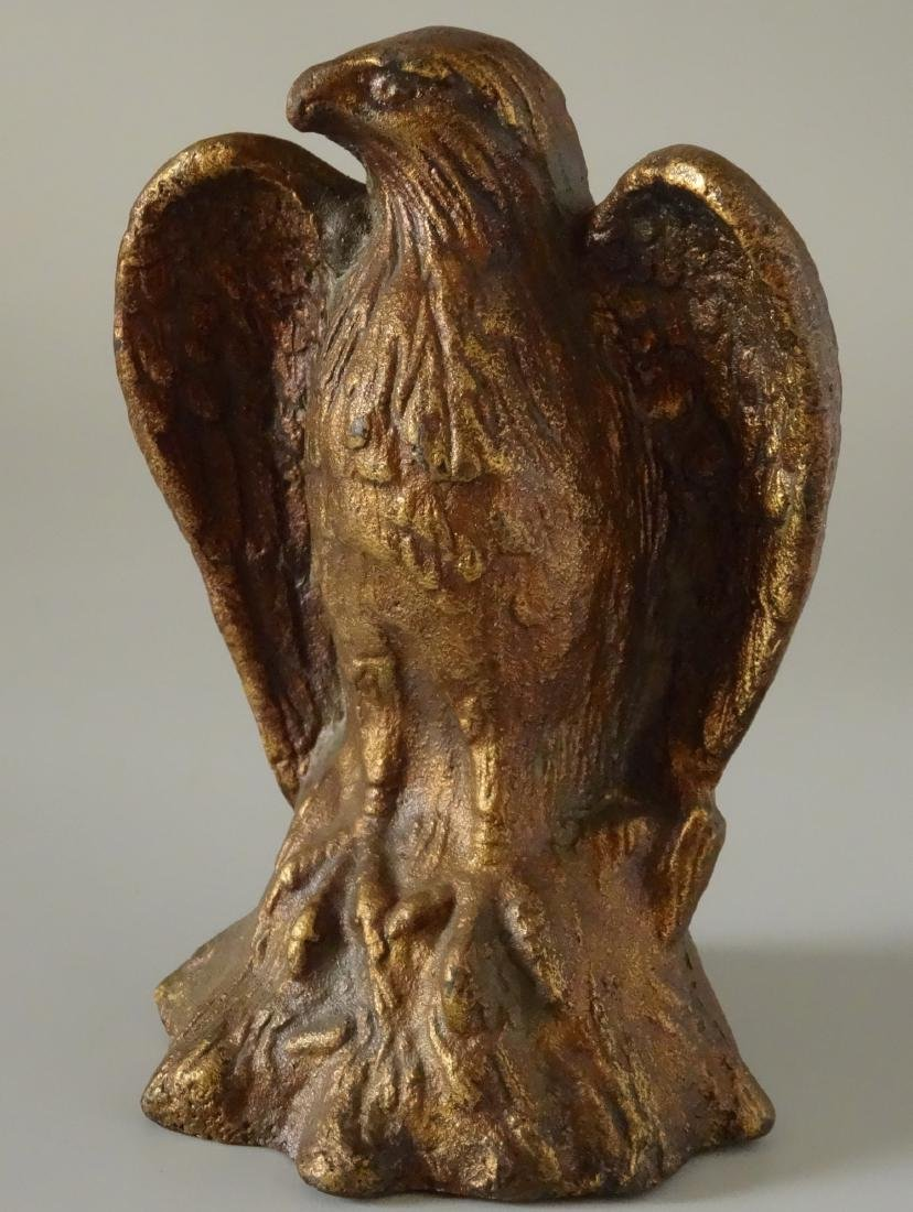 Antique Cast Iron American Eagle Patriotic Desktop