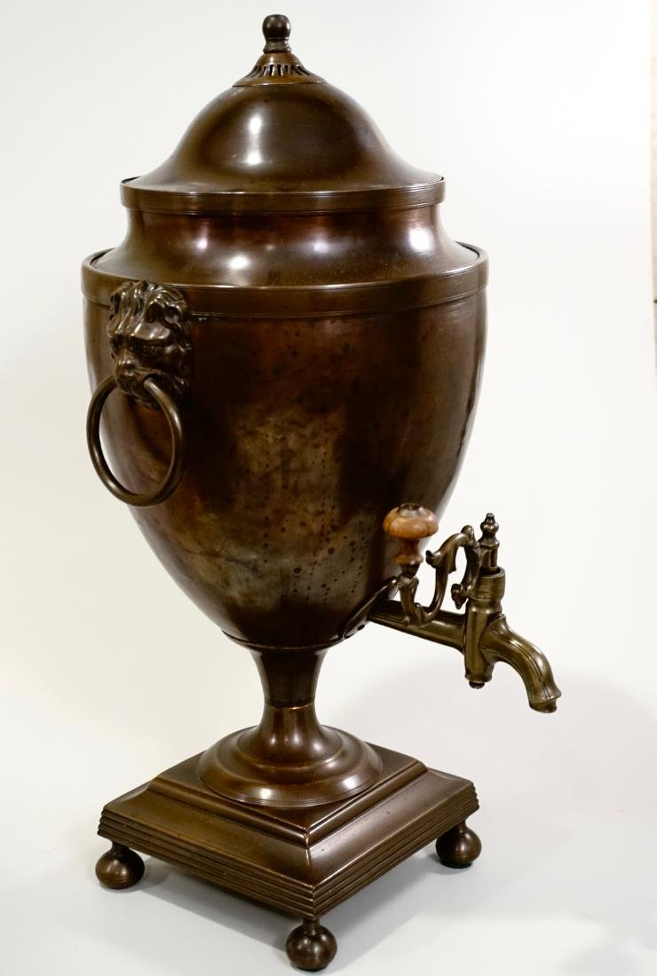 18th Century British Copper Tea Vase Early Georgian c - 2