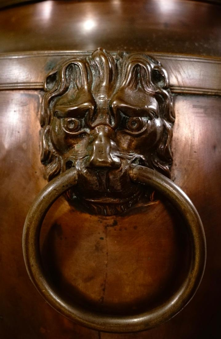 18th Century British Copper Tea Vase Early Georgian c - 5