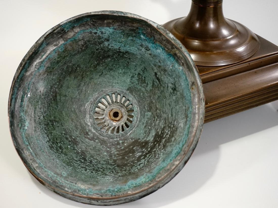 18th Century British Copper Tea Vase Early Georgian c - 9