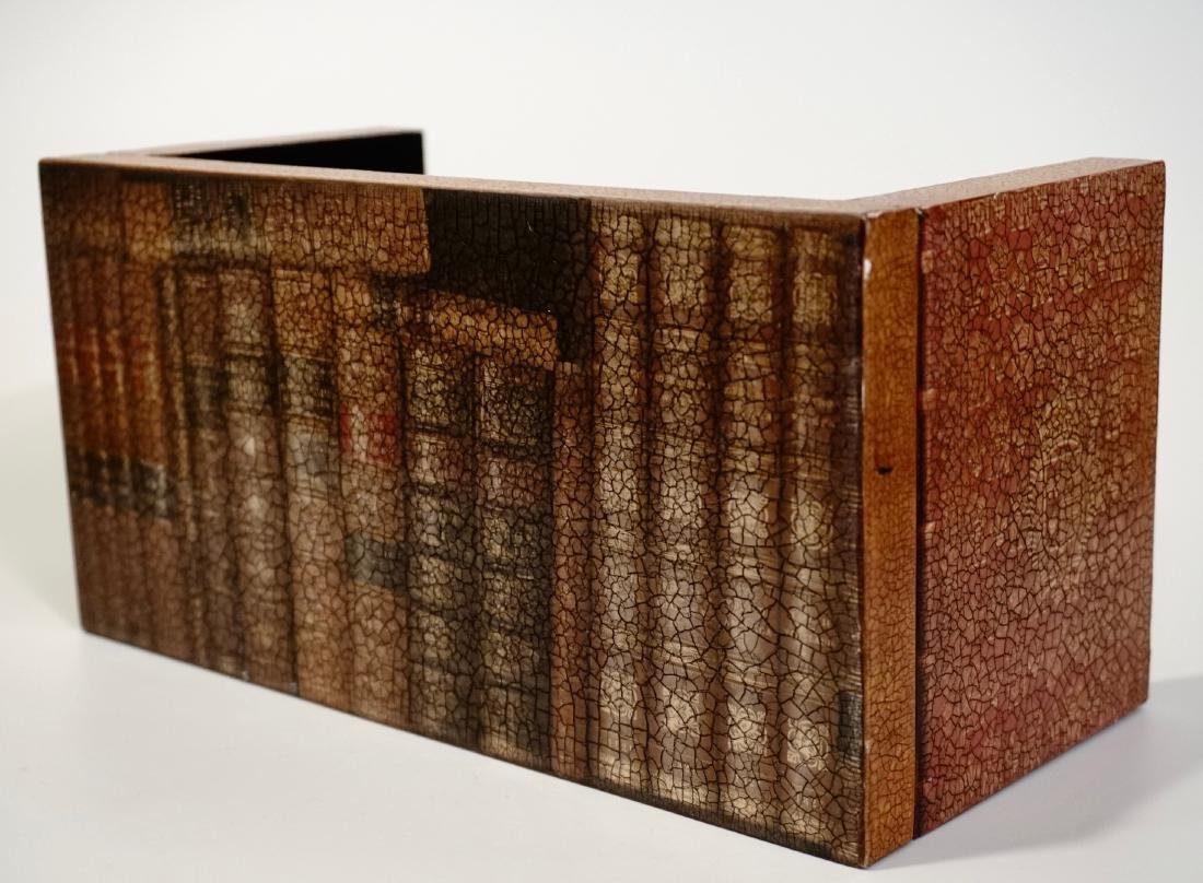 Trompe Alley Faux Book Shelf Hide Foldable Tray Lot of - 3